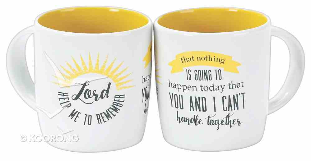 Rise & Shine Mug: Lord Help Me to Remember (One Mug) Homeware