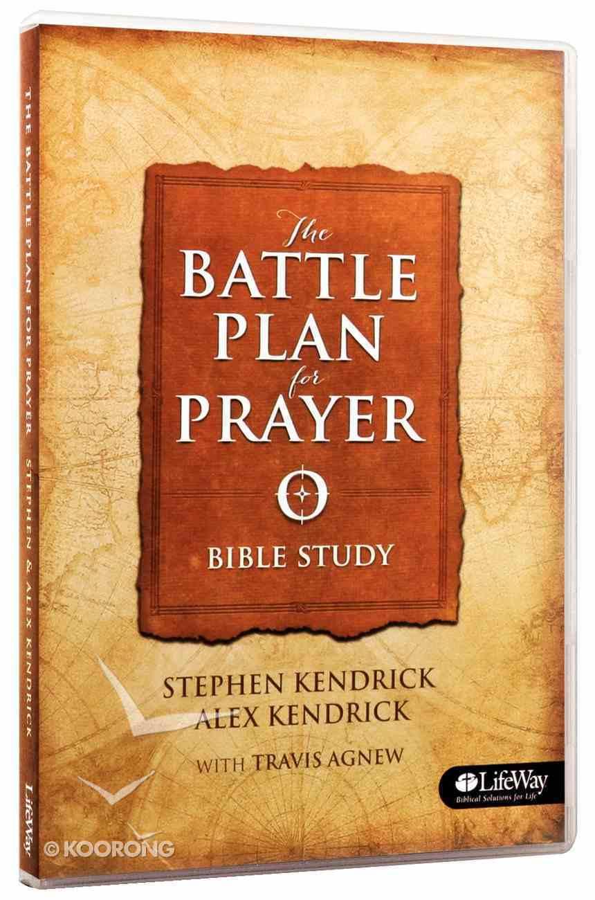 Battle Plan For Prayer, the (2 Dvds): 8 Sessions Over 2 Discs - Avg Length 20Min Per Session (Dvd Only Set) DVD