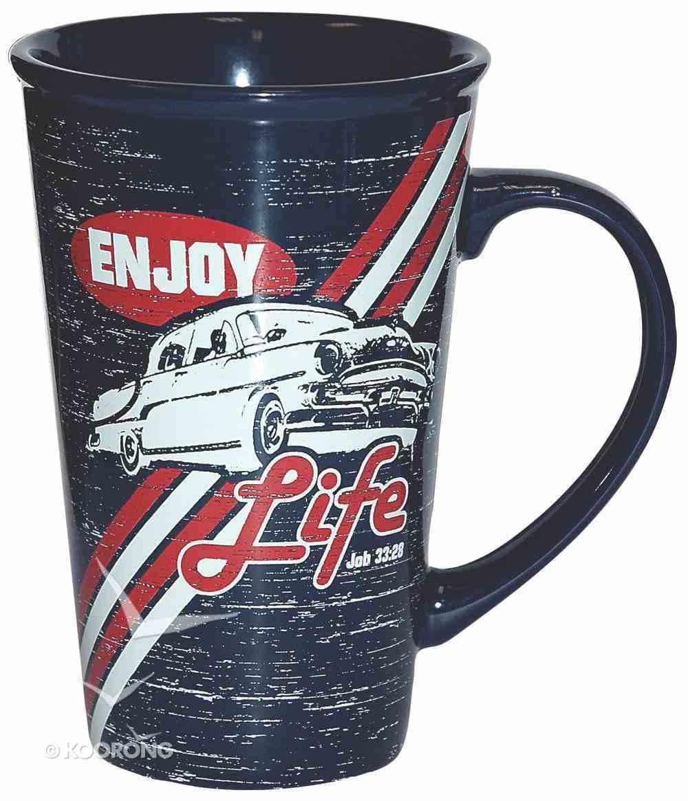 Ceramic Mug: Enjoy Life Might Mug Homeware