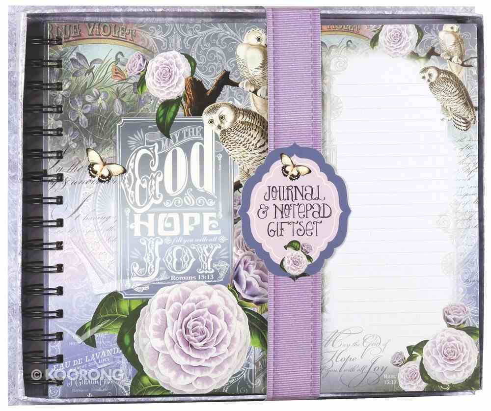 Deluxe Notepad Giftset: Owl Journal & Listpad Giftset Pack