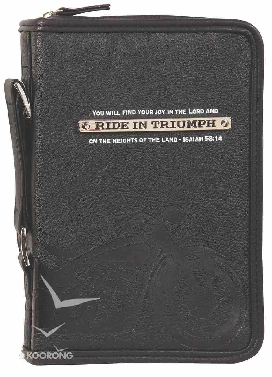 Bible Cover Ride in Triumph Medium Bible Cover