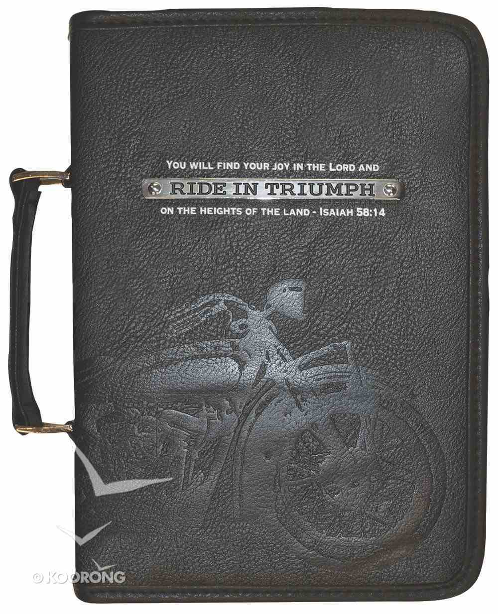Bible Cover Ride in Triumph Large Bible Cover