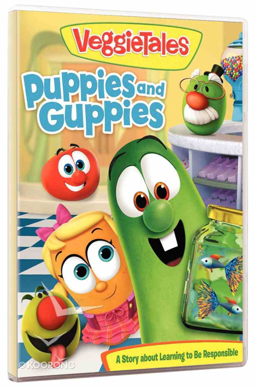 Veggie Tales #59: Puppies and Guppies DVD