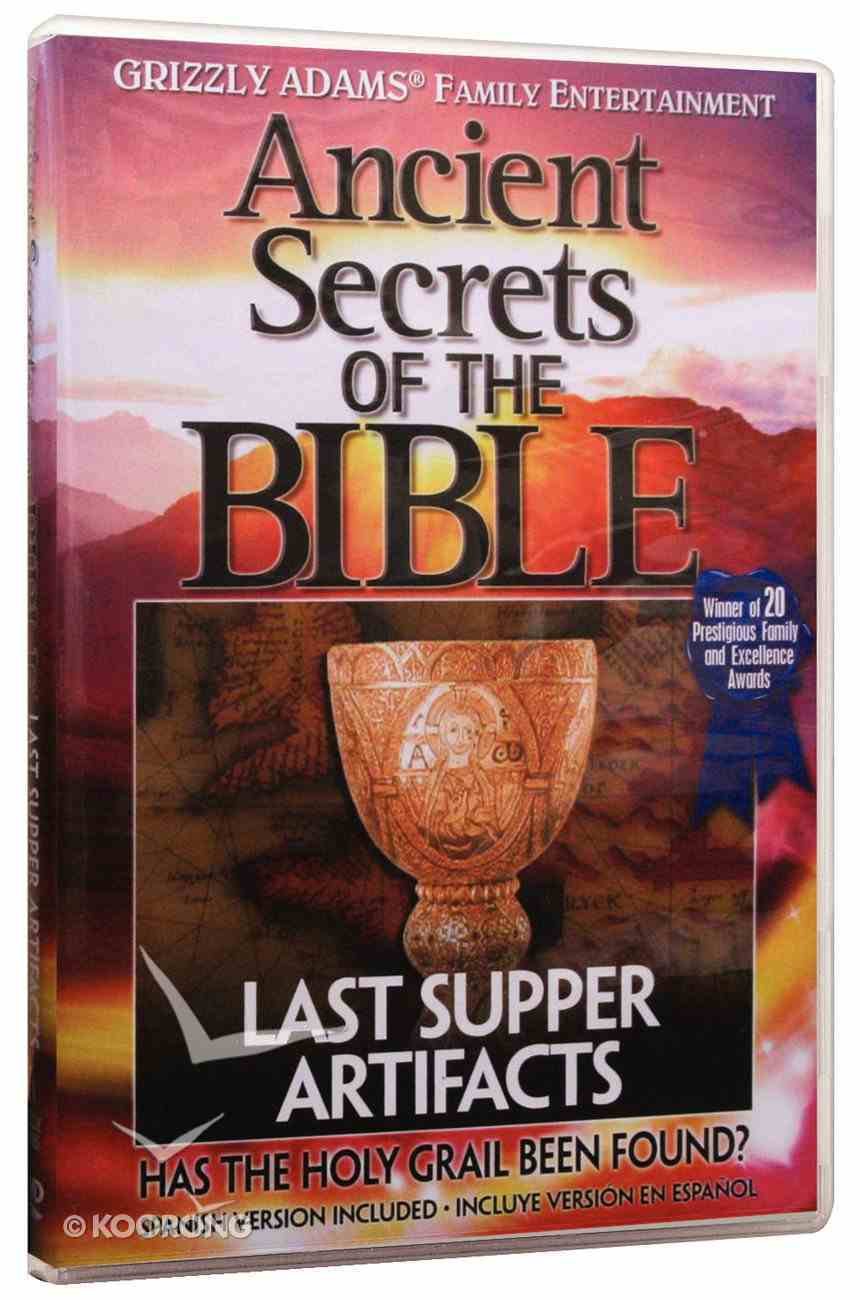 Ancient Secrets 3 #04: Last Supper Artifacts (#04 in Ancient Secrets Of The Bible Dvd Series) DVD