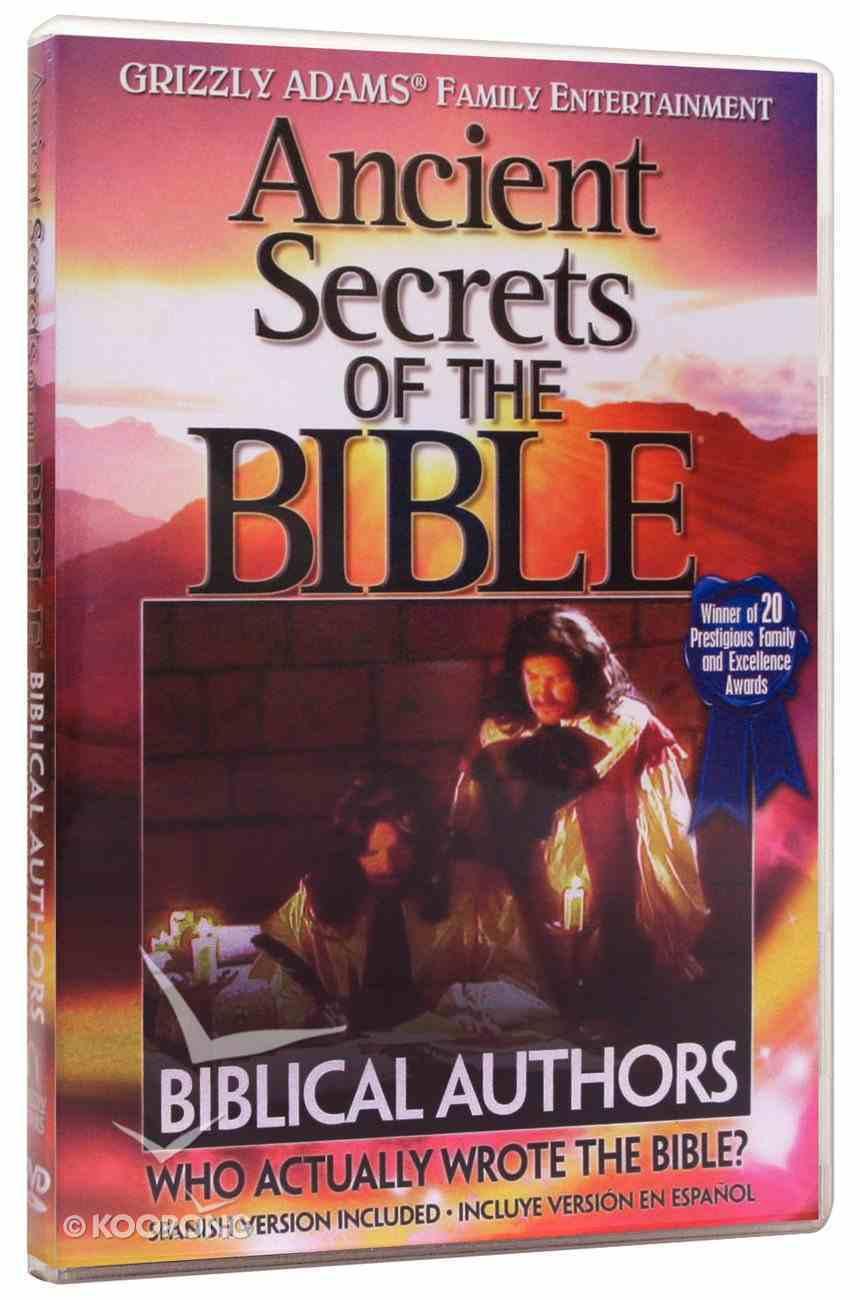 Ancient Secrets 2 #04: Biblical Authors (Ancient Secrets Of The Bible Dvd Series) DVD