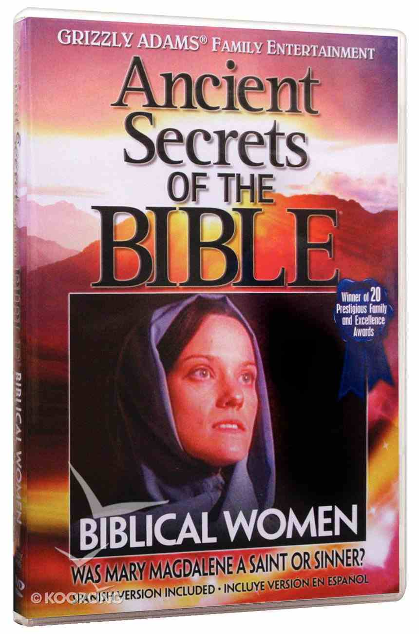 Ancient Secrets 2 #05: Biblical Women (Ancient Secrets Of The Bible Dvd Series) DVD