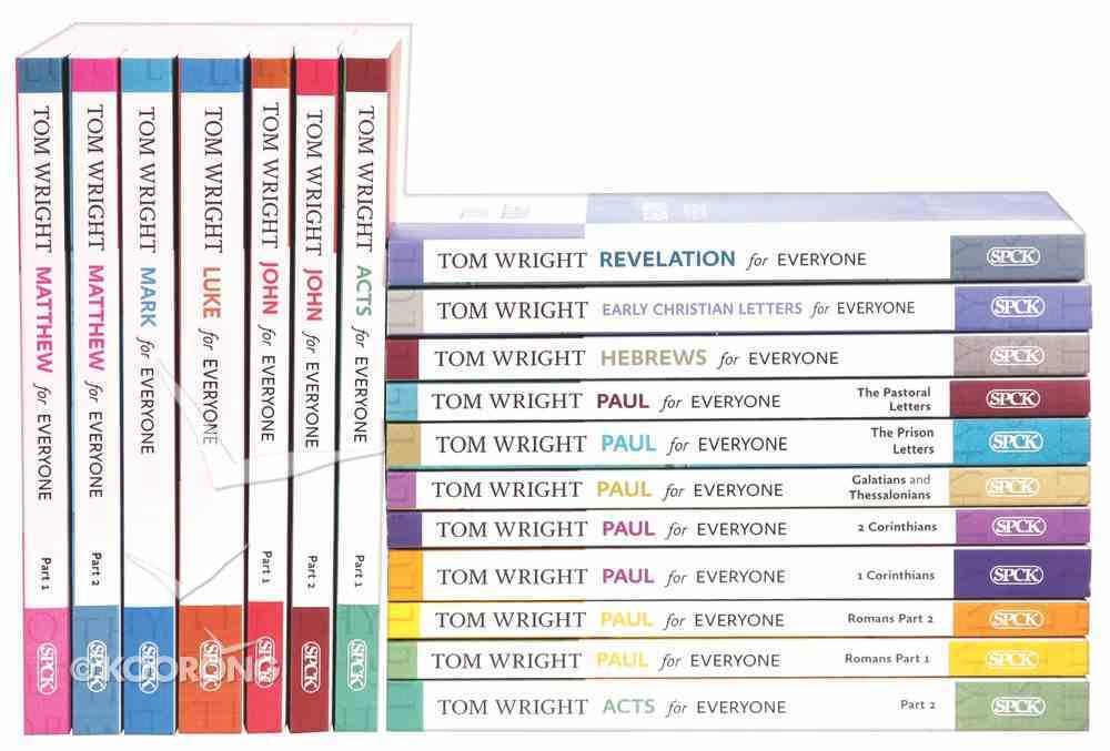 For Everyone Complete New Testament Commentary Library (18 Vols) (New Testament For Everyone Series) Box