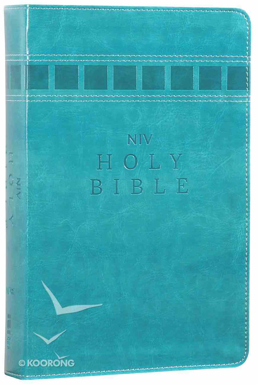 NIV Lifehacks Bible Turquoise (Black Letter Edition) Premium Imitation Leather