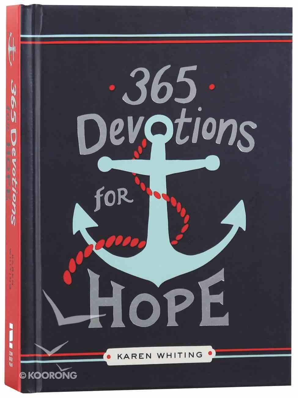 365 Devotions For Hope Hardback