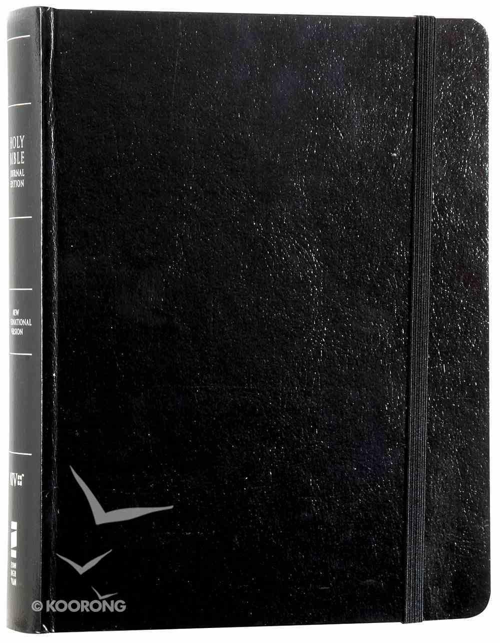 NIV Single-Column Journaling Bible Black Hardback