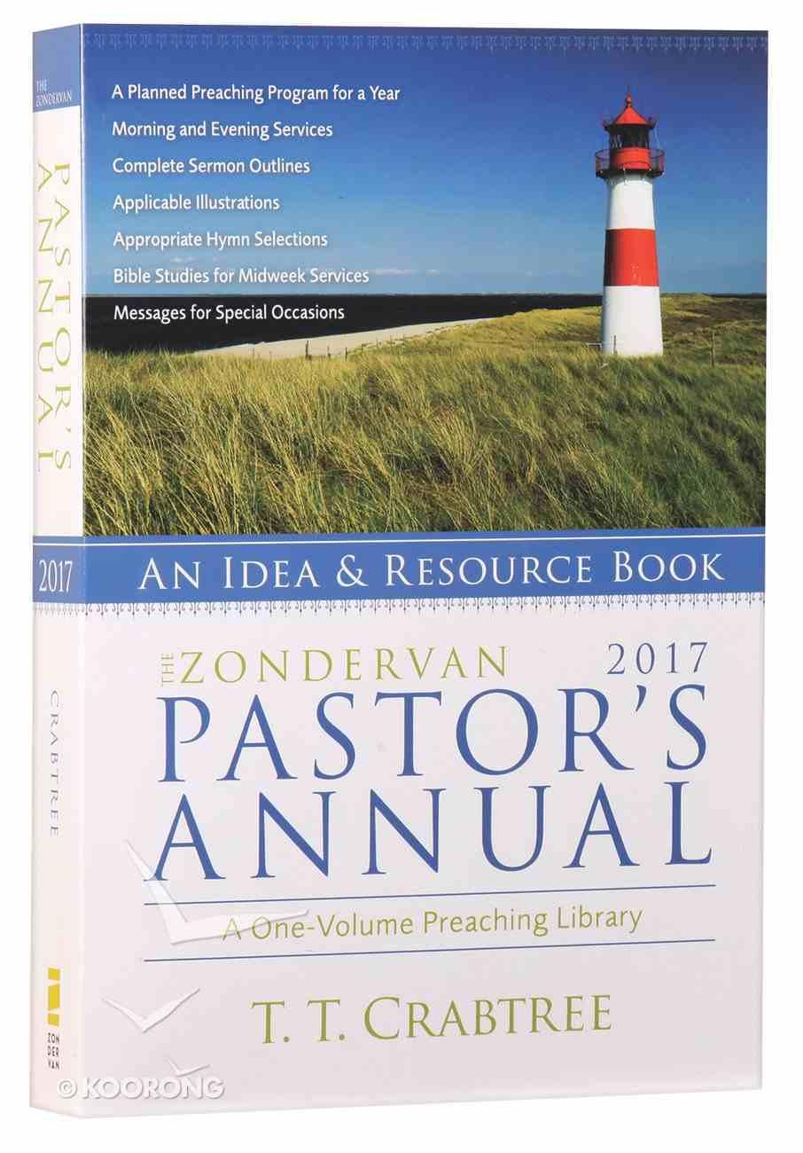 The Zondervan 2017 Pastor's Annual Paperback