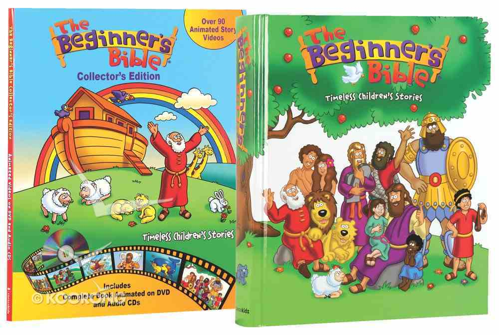 Beginner's Bible, the (Incl Book, CDS & Dvd)(Timeless Children's Stories) (Collector's Edition) (Beginner's Bible Series) Box