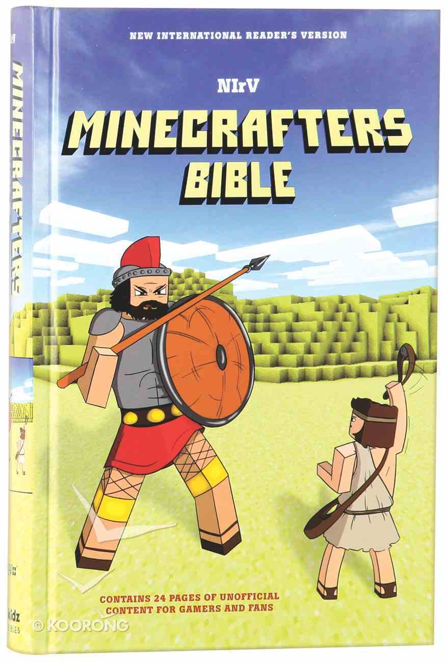 NIRV Minecrafters Bible (Black Letter Edition) Hardback