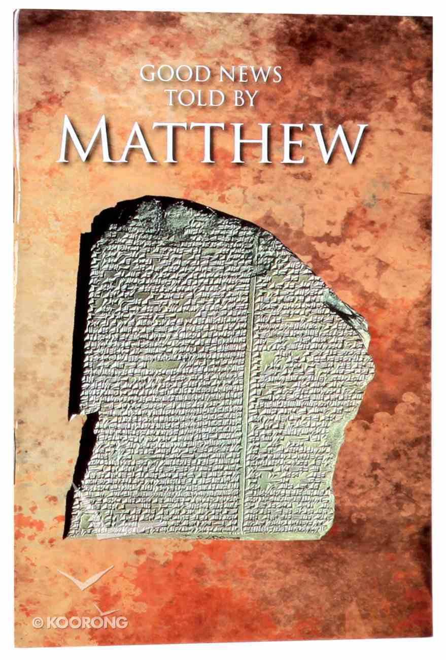 GNB Good News Told By Matthew Paperback