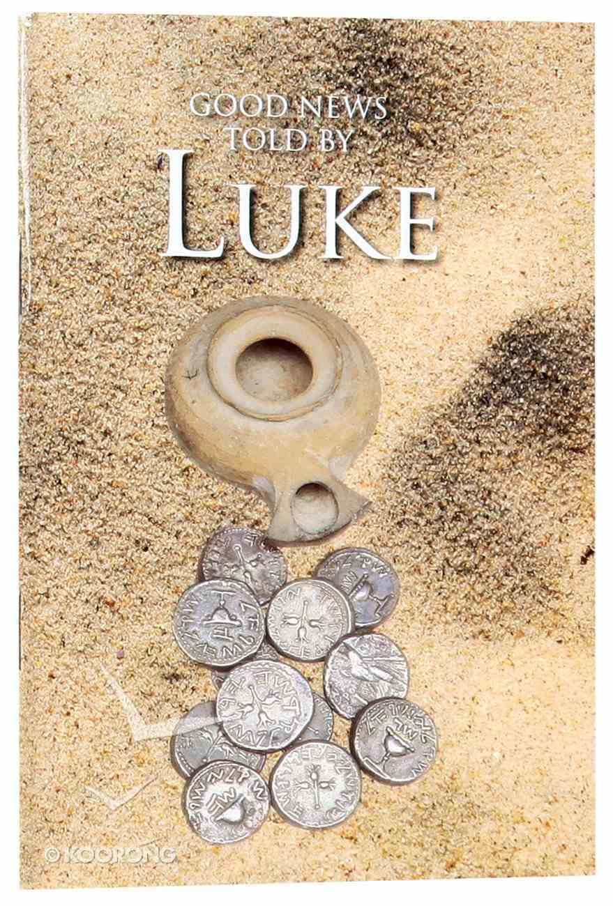 GNB Good News Told By Luke (Black Letter Edition) Paperback