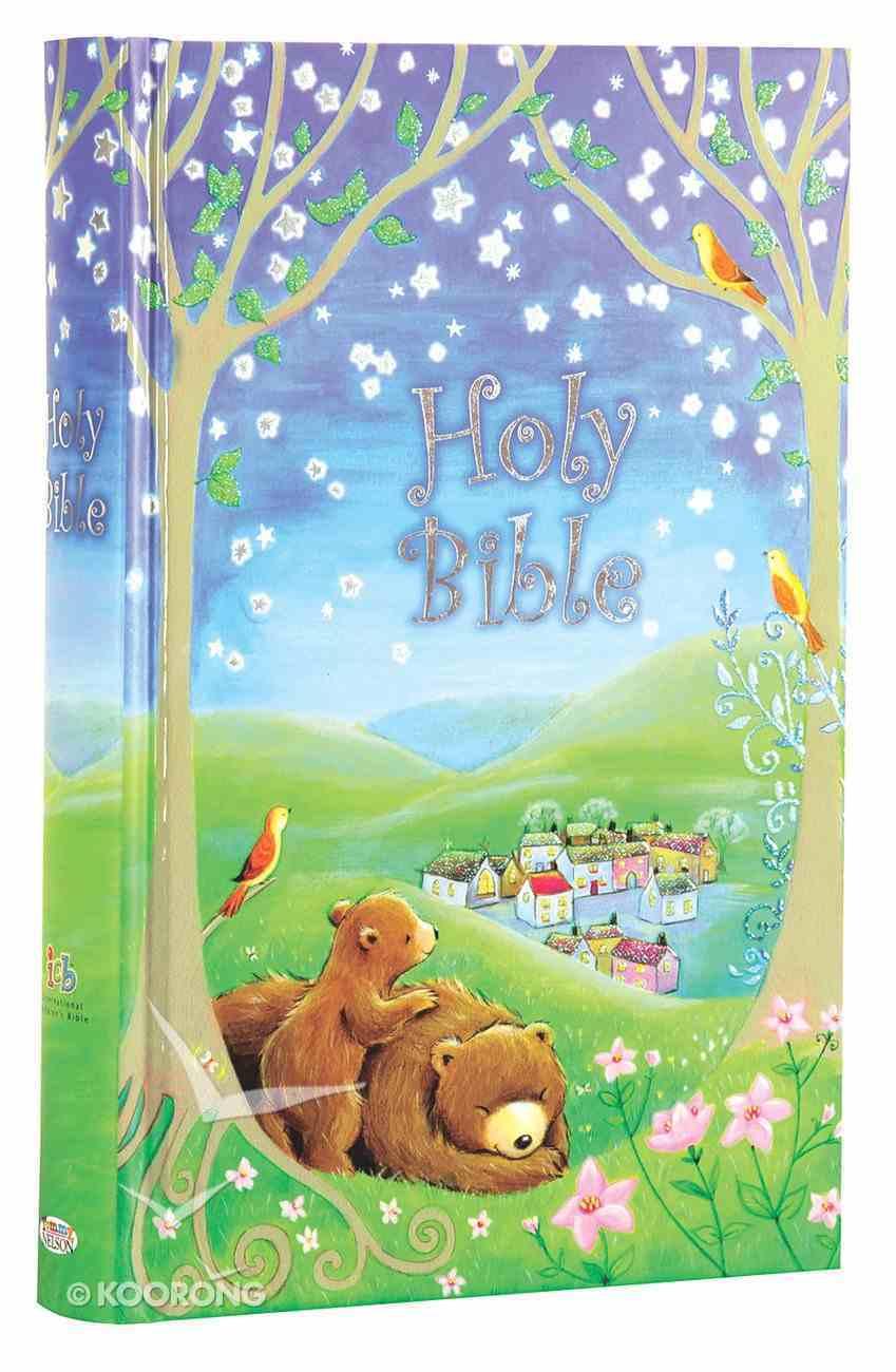 ICB Sparkly Bedtime Holy Bible (Black Letter Edition) Hardback
