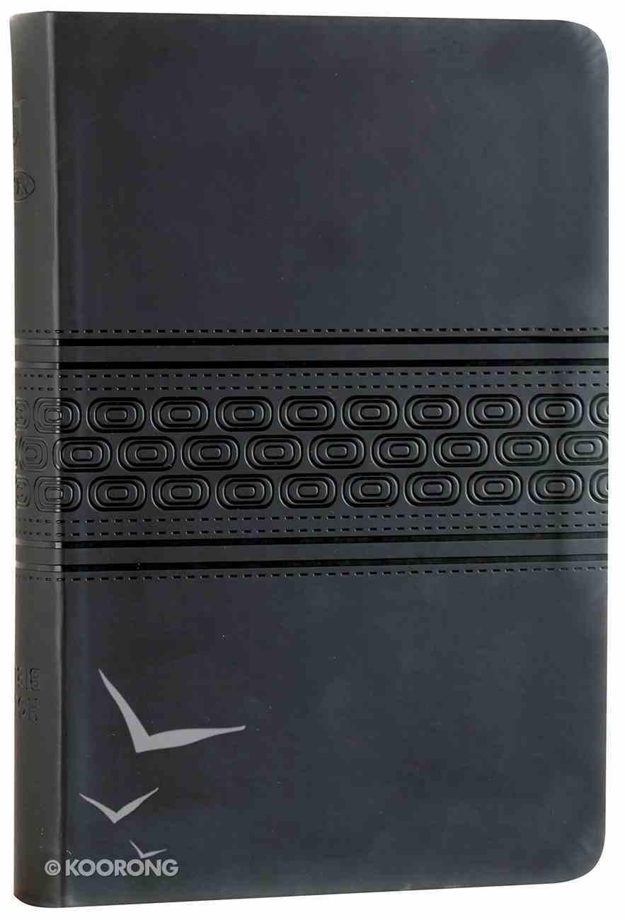 NKJV Gift Bible Black (Red Letter Edition) Premium Imitation Leather
