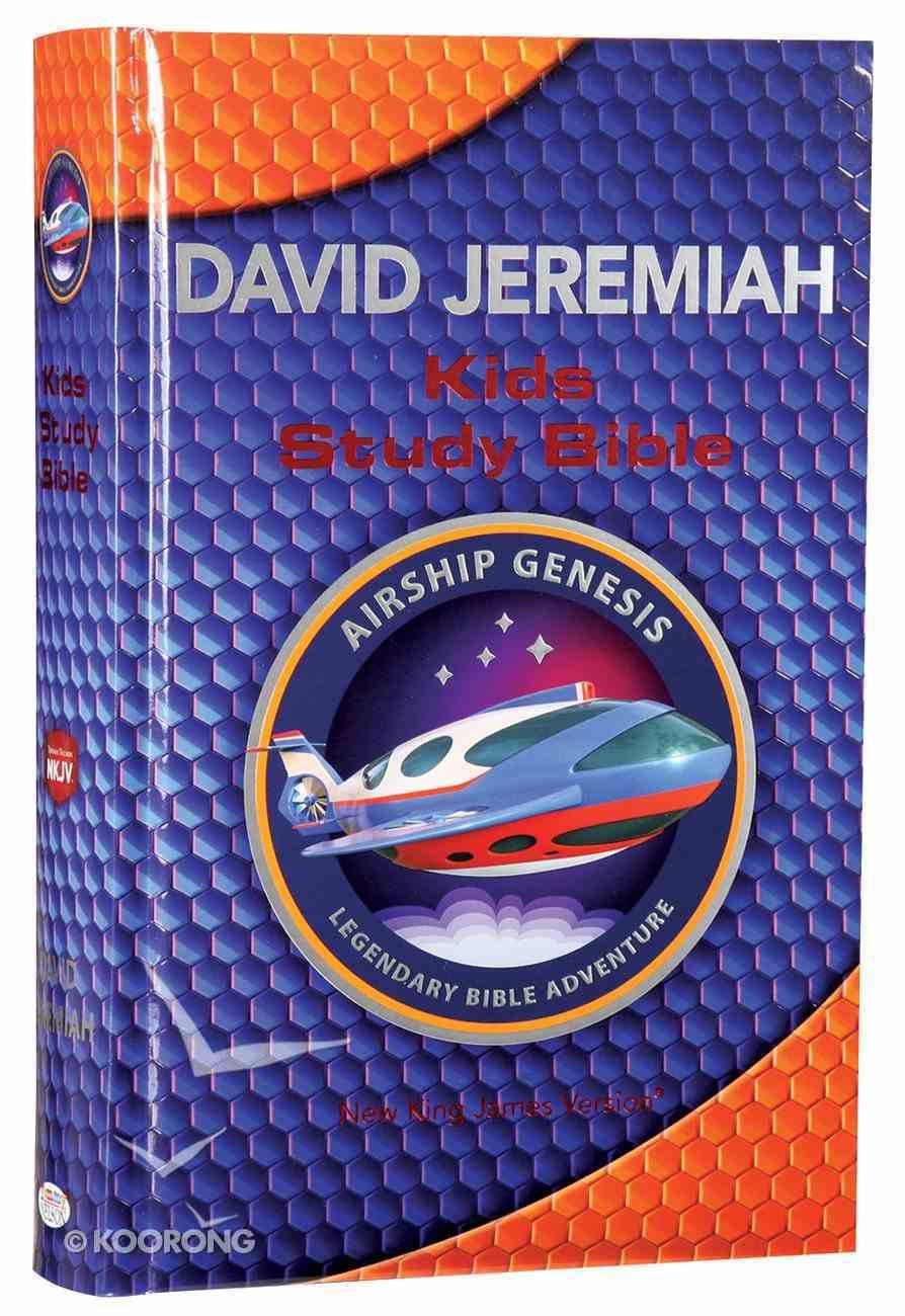 NKJV Airship Genesis Kids Study Bible Hardback