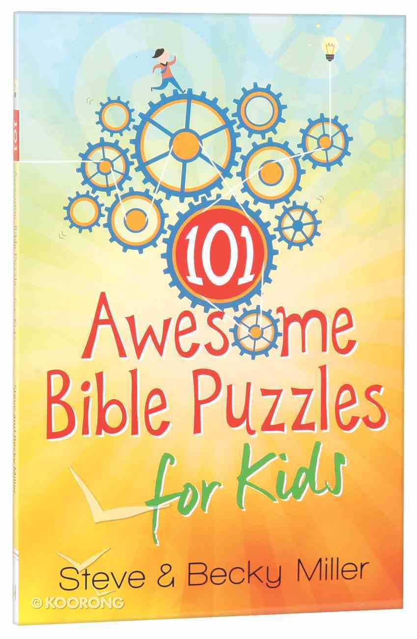 101 Awesome Bible Puzzles For Kids Paperback