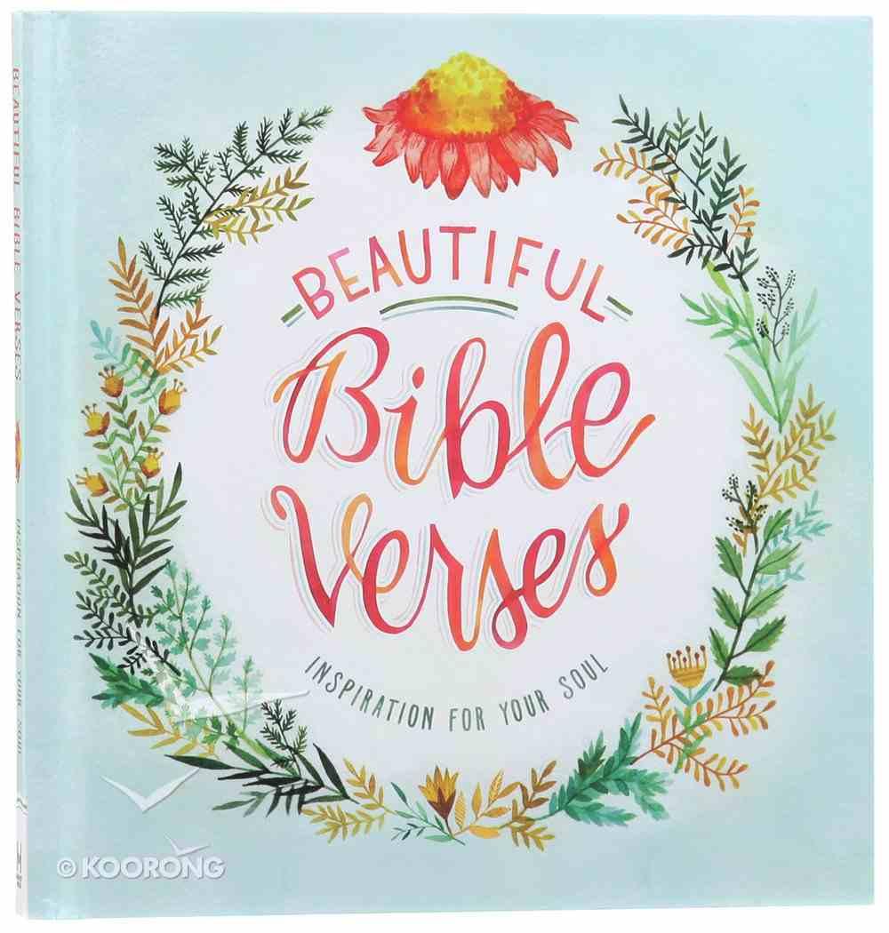 Beautiful Bible Verses Hardback
