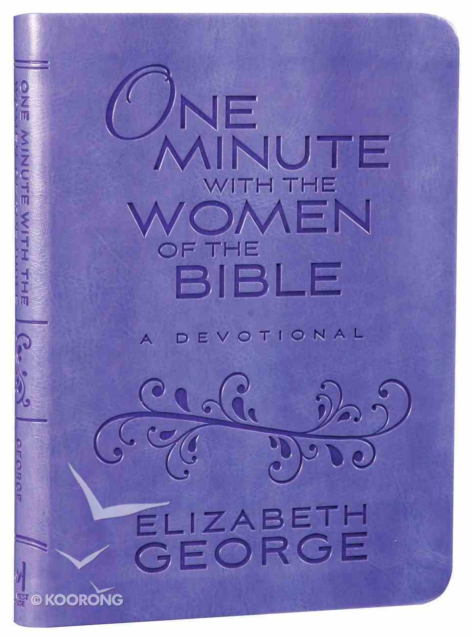 One Minute With the Women of the Bible: A Devotional Imitation Leather