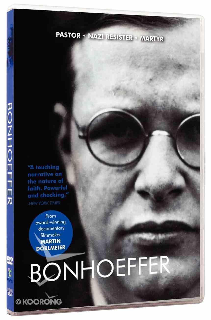 Bonhoeffer: Pastor, Nazi Resister, Martyr DVD