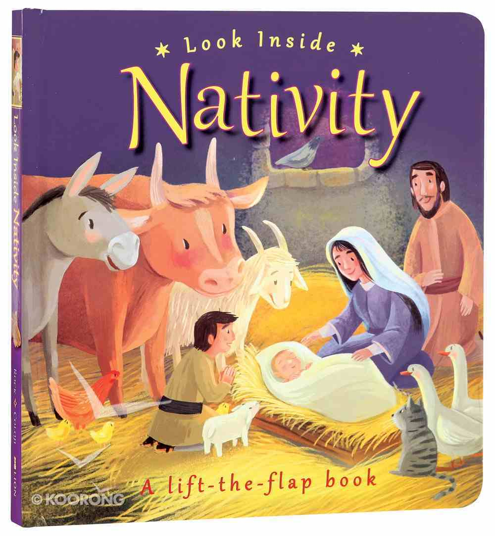 Look Inside: Nativity Board Book