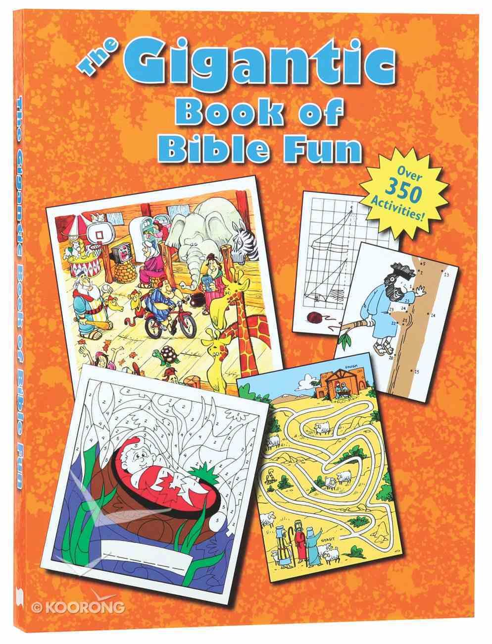 The Gigantic Book of Bible Fun (Reproducible) Paperback