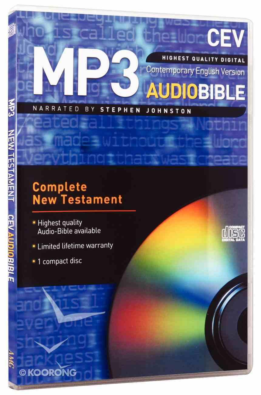 CEV New Testament on Audio CD (Mp3 - 1 Disc) CD