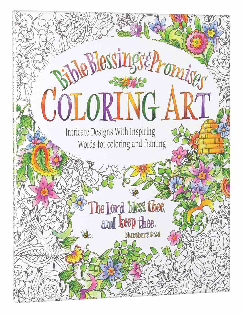 Bible Blessings and Promises (Adult Coloring Books Series) Paperback