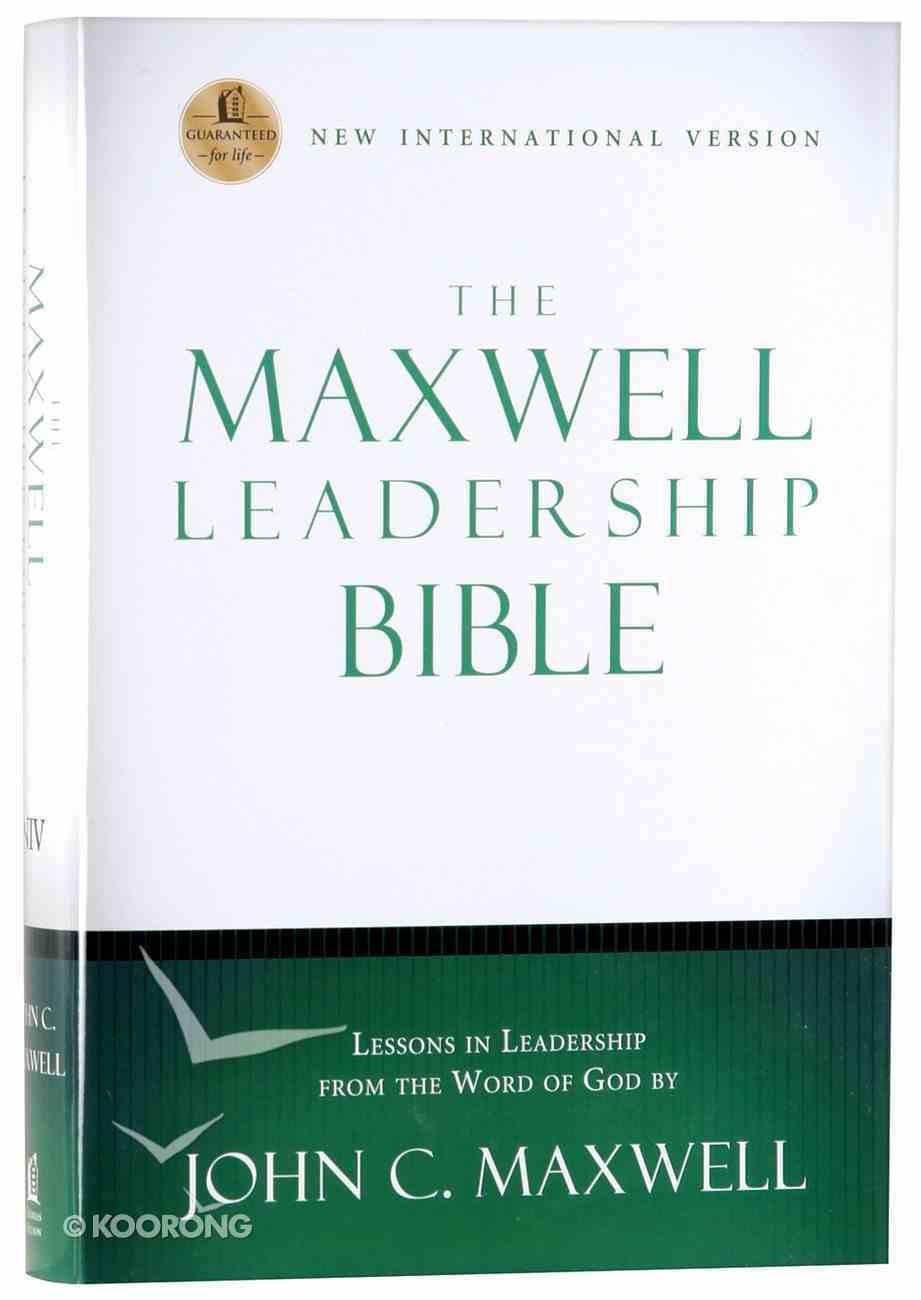 NIV Maxwell Leadership Bible Hardback