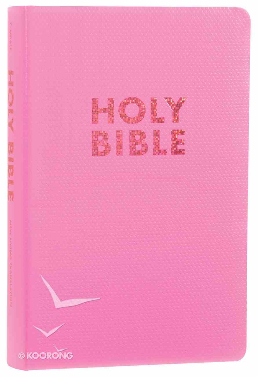 NLT Gift & Award Bible For Girls Bubblegum Pink (Red Letter Edition) Imitation Leather