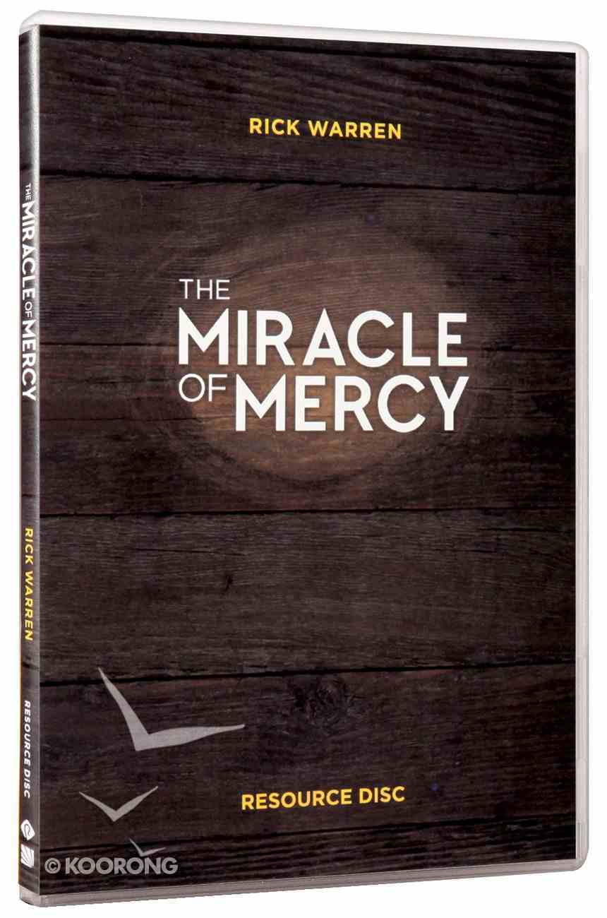 The Miracle of Mercy (Campaign Resource Cdrom) CD-rom