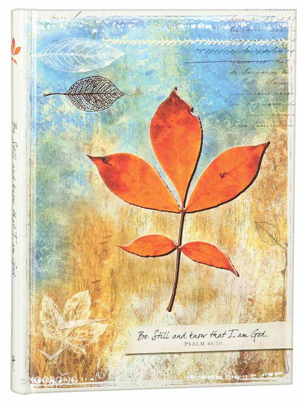 Journal: Be Still and Know (Large) Hardback