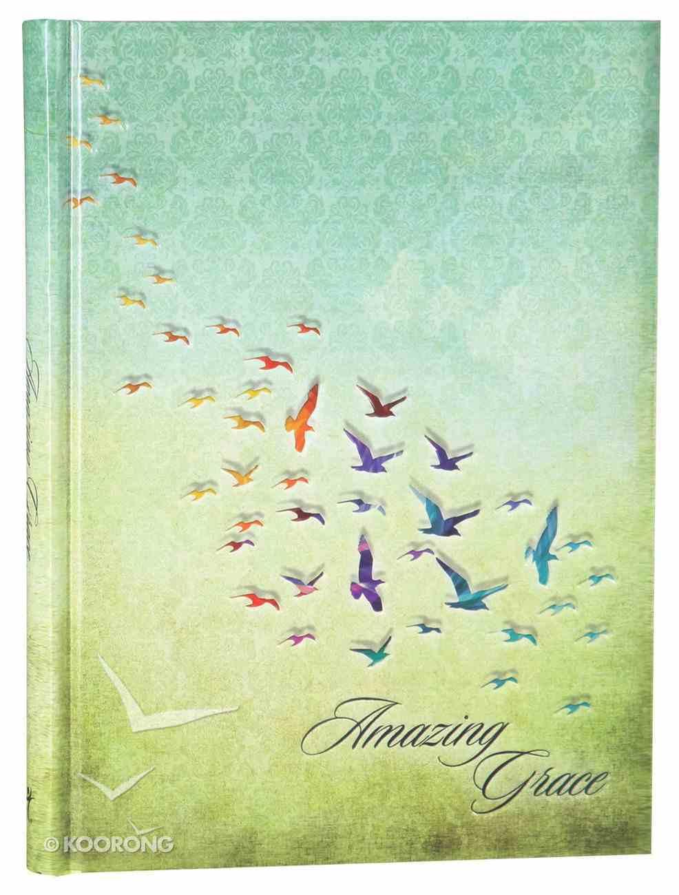 Journal: Amazing Grace.... (Large) Hardback