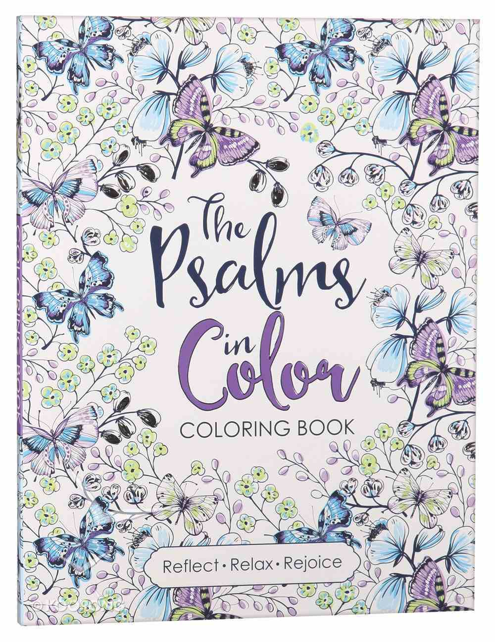 The Psalms in Color (Adult Coloring Books Series) Paperback