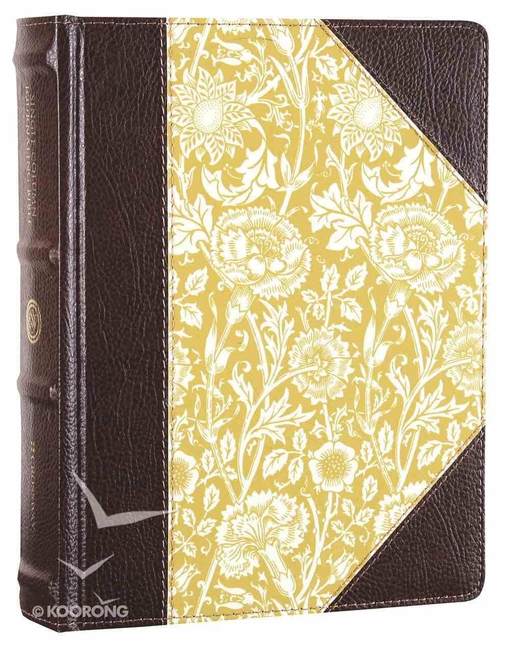 ESV Single Column Journaling Bible Antique Floral (Black Letter Edition) Hardback