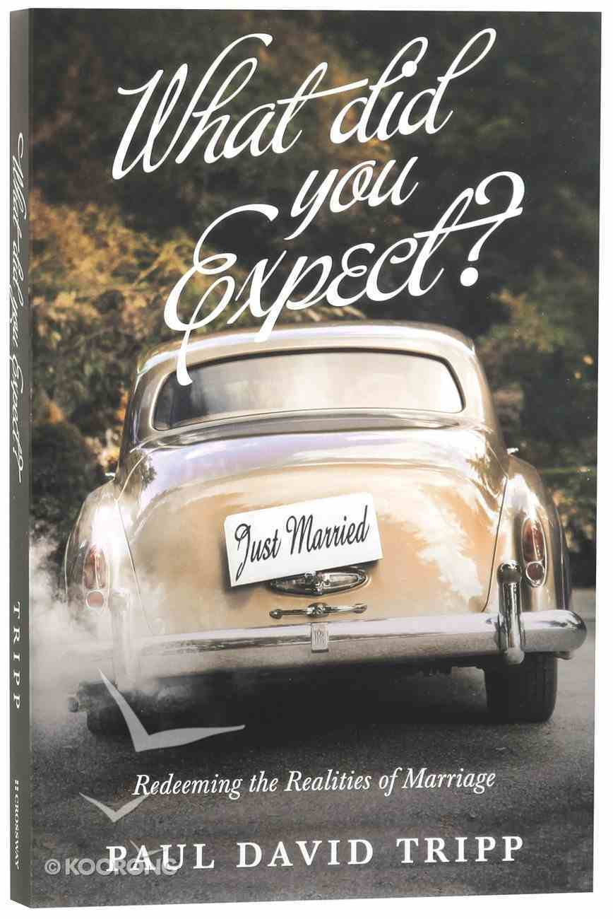 What Did You Expect? Paperback