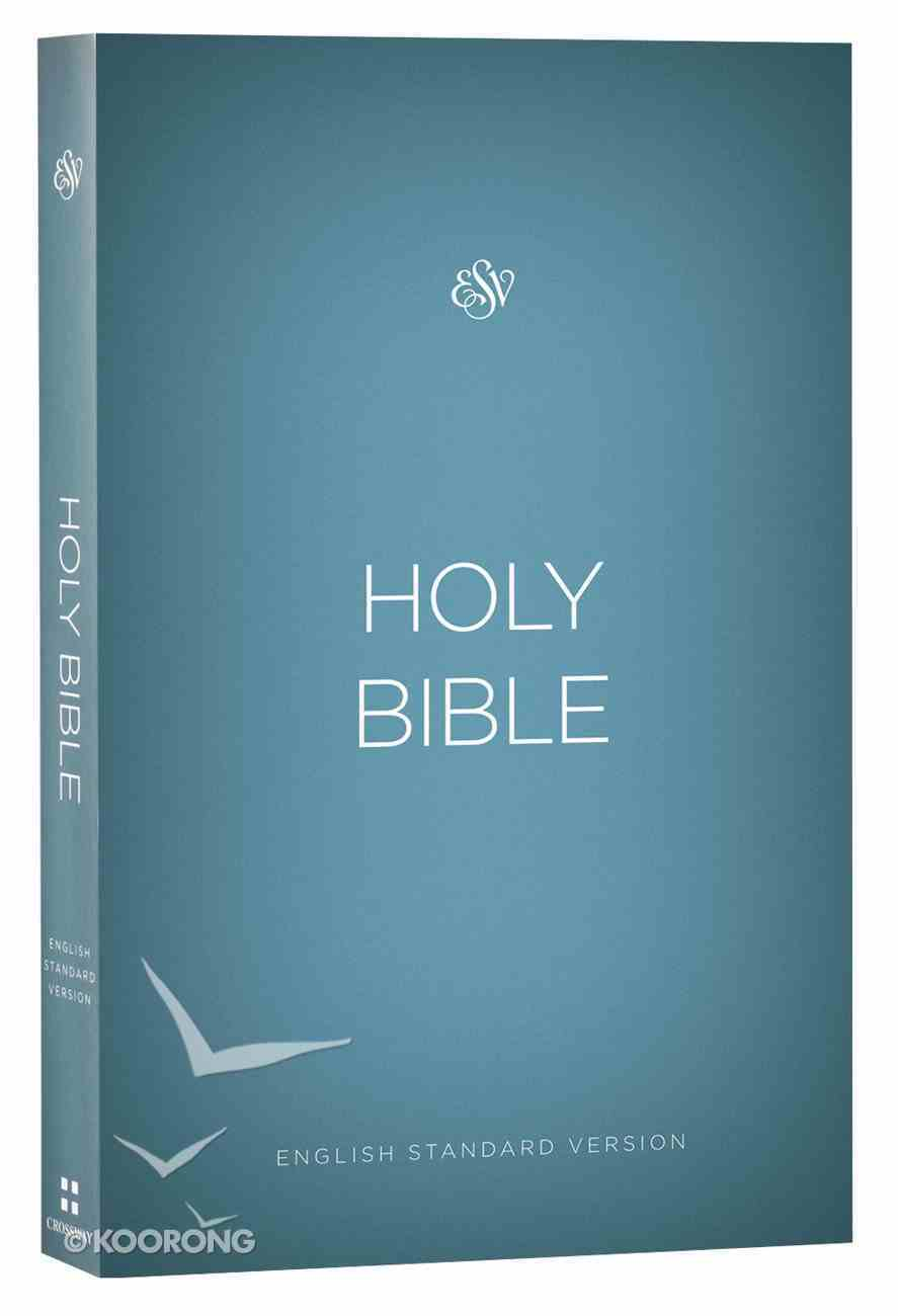 ESV Outreach Bible Blue (Black Letter Edition) Paperback