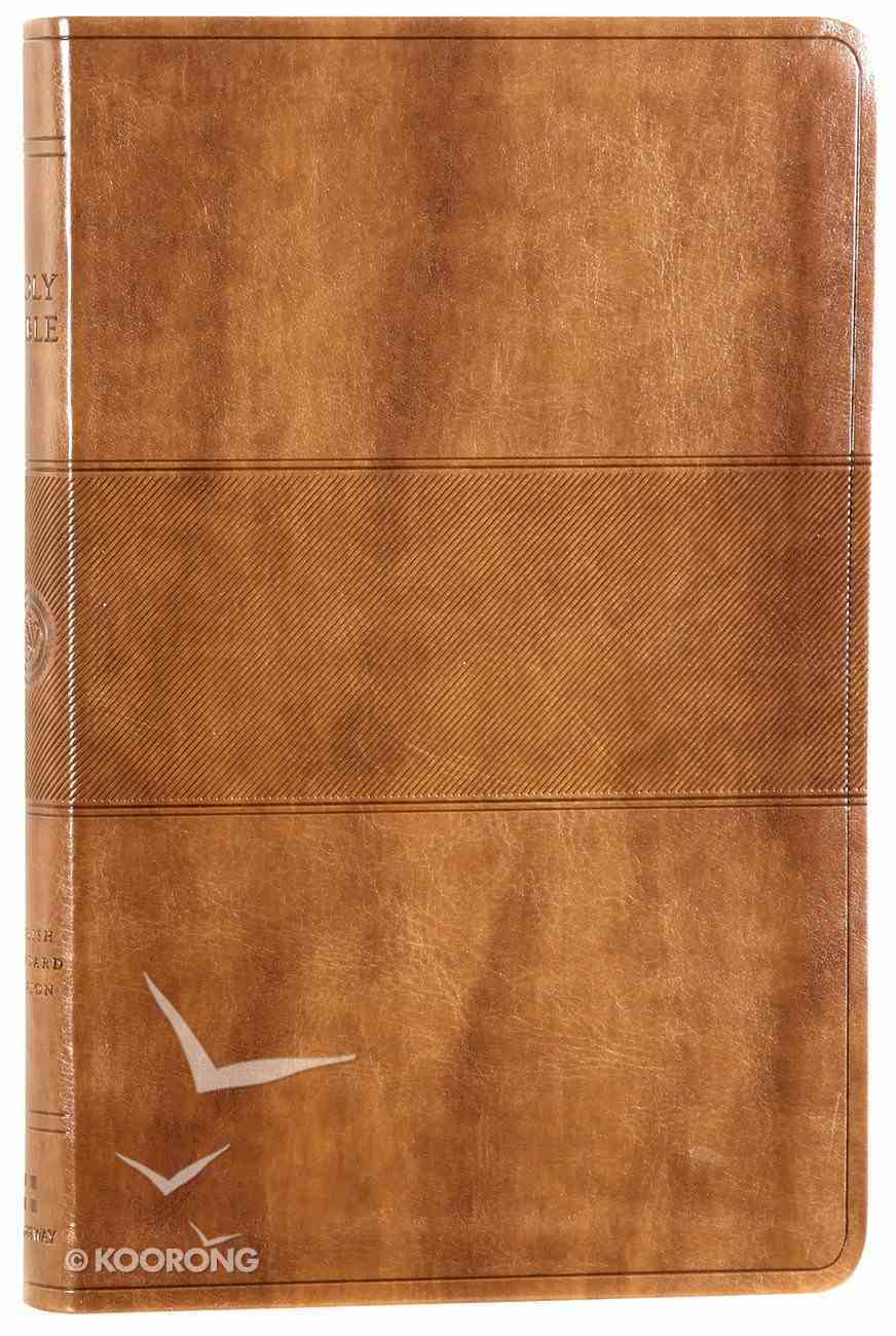 ESV Premium Gift Bible Chestnut Trail Design Imitation Leather