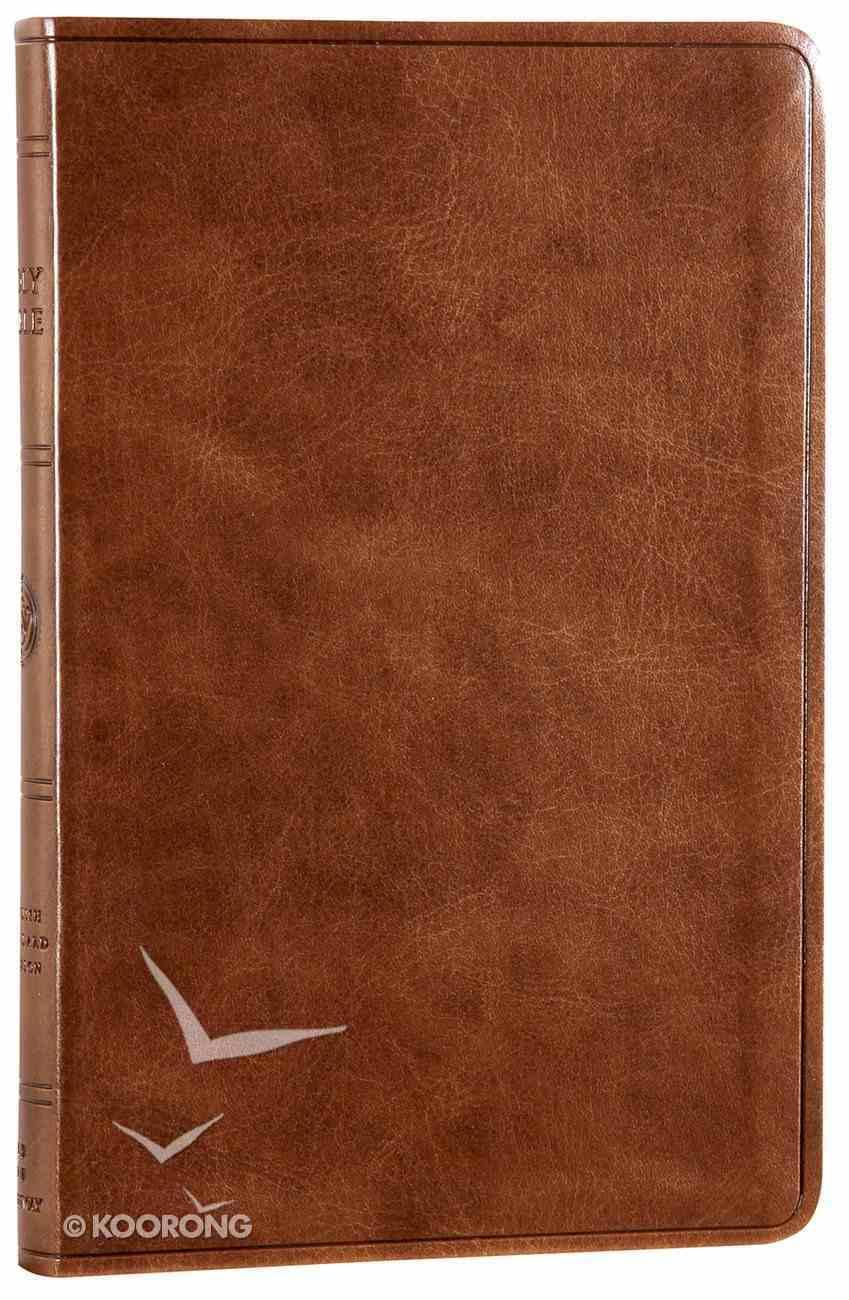 ESV Premium Gift Bible Deep Brown Imitation Leather