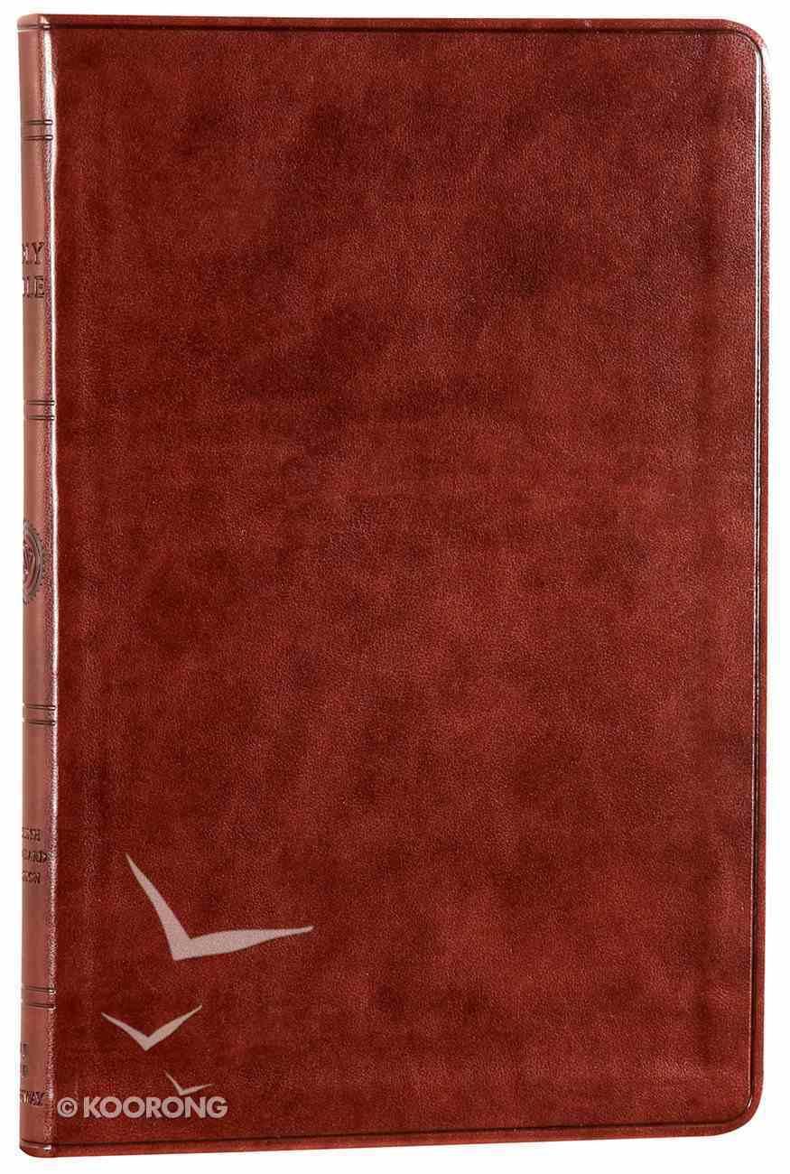 ESV Value Thinline Bible Chestnut Imitation Leather