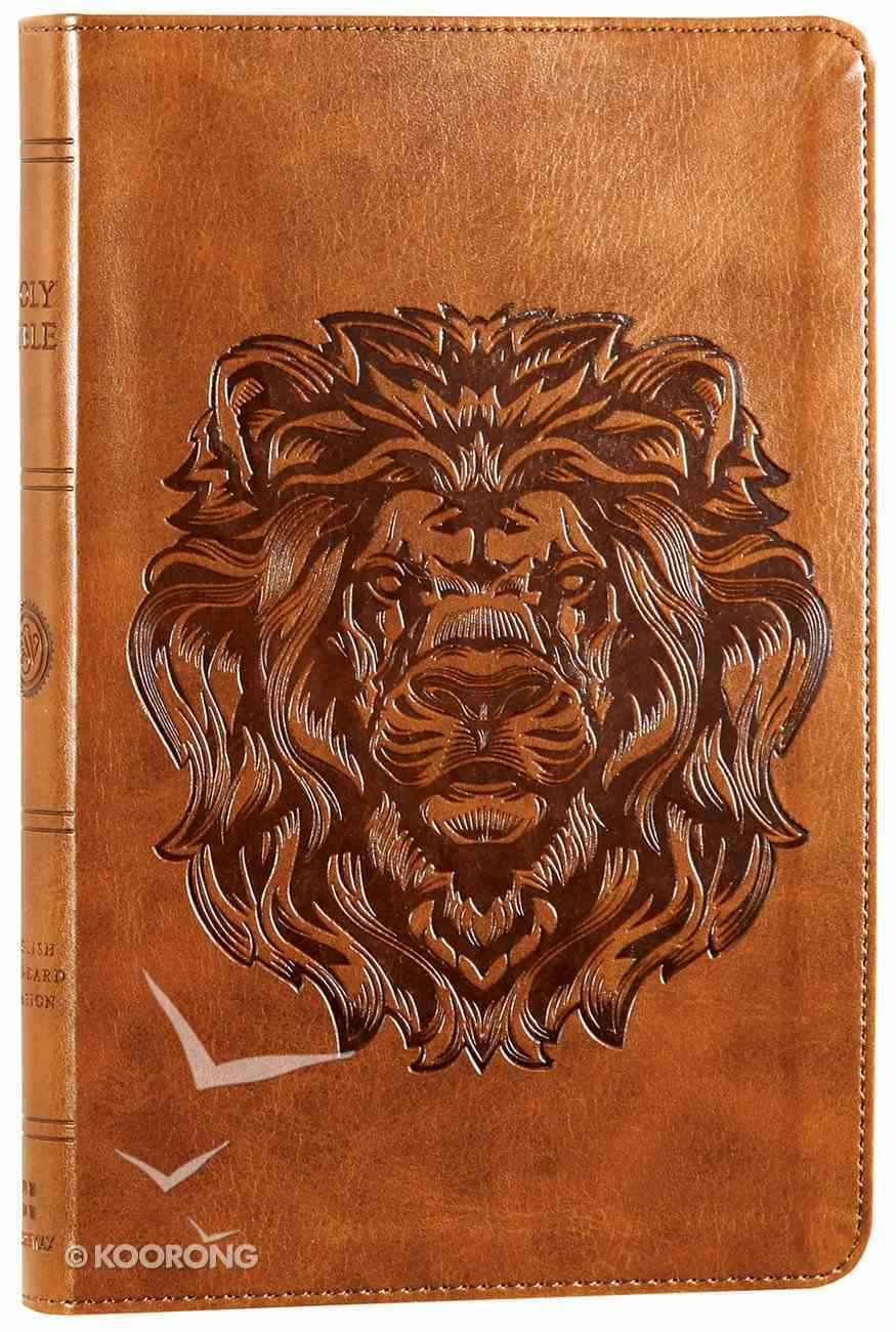 ESV Thinline Bible Trutone Royal Lion (Red Letter Edition) Imitation Leather