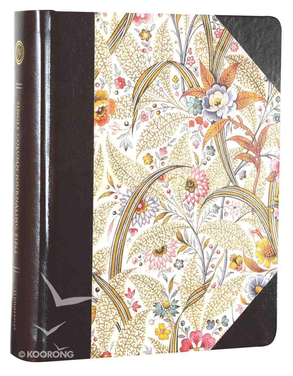 ESV Single Column Journaling Bible Summer Garden (Black Letter Edition) Hardback