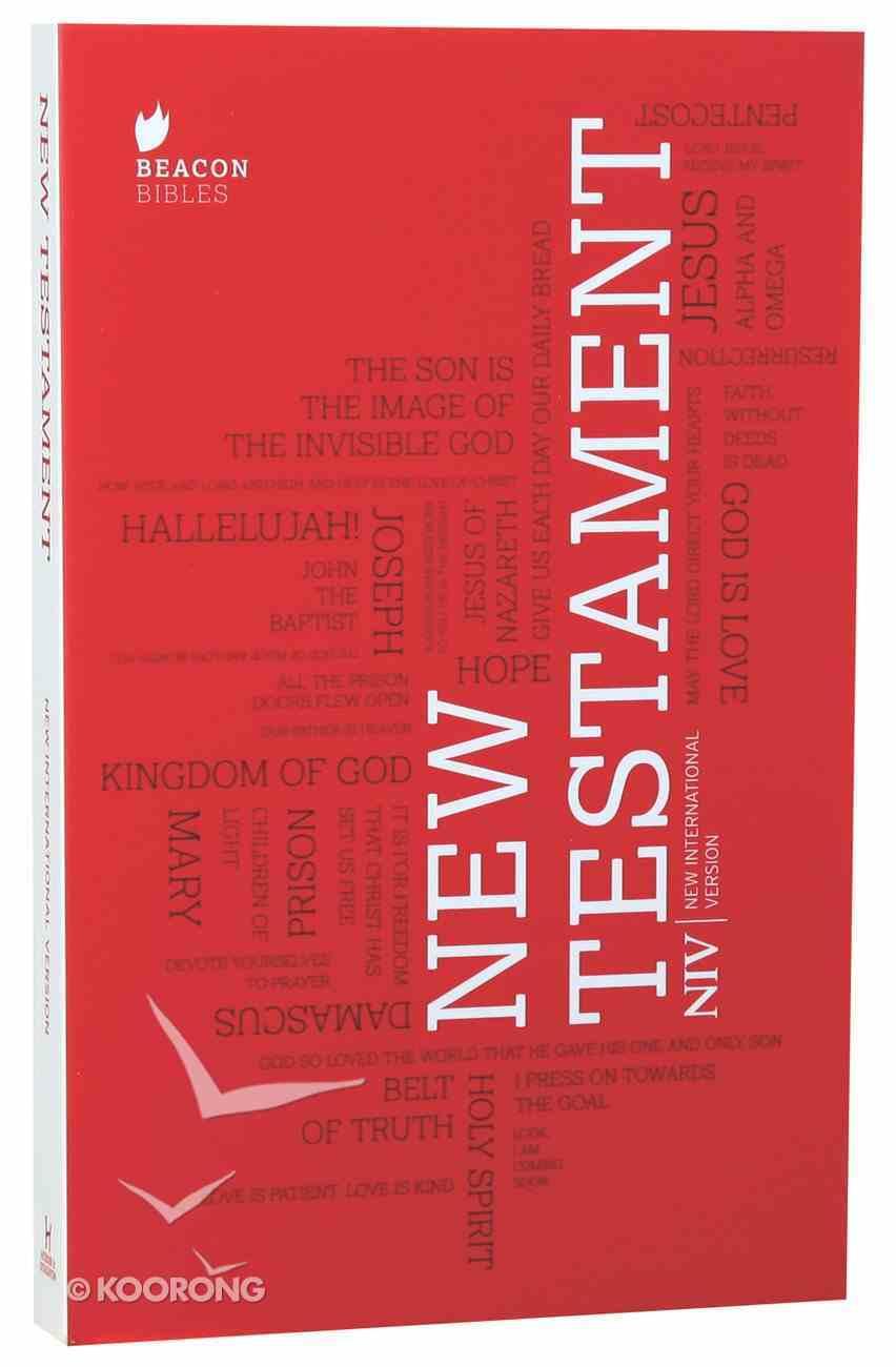 NIV New Testament Paperback
