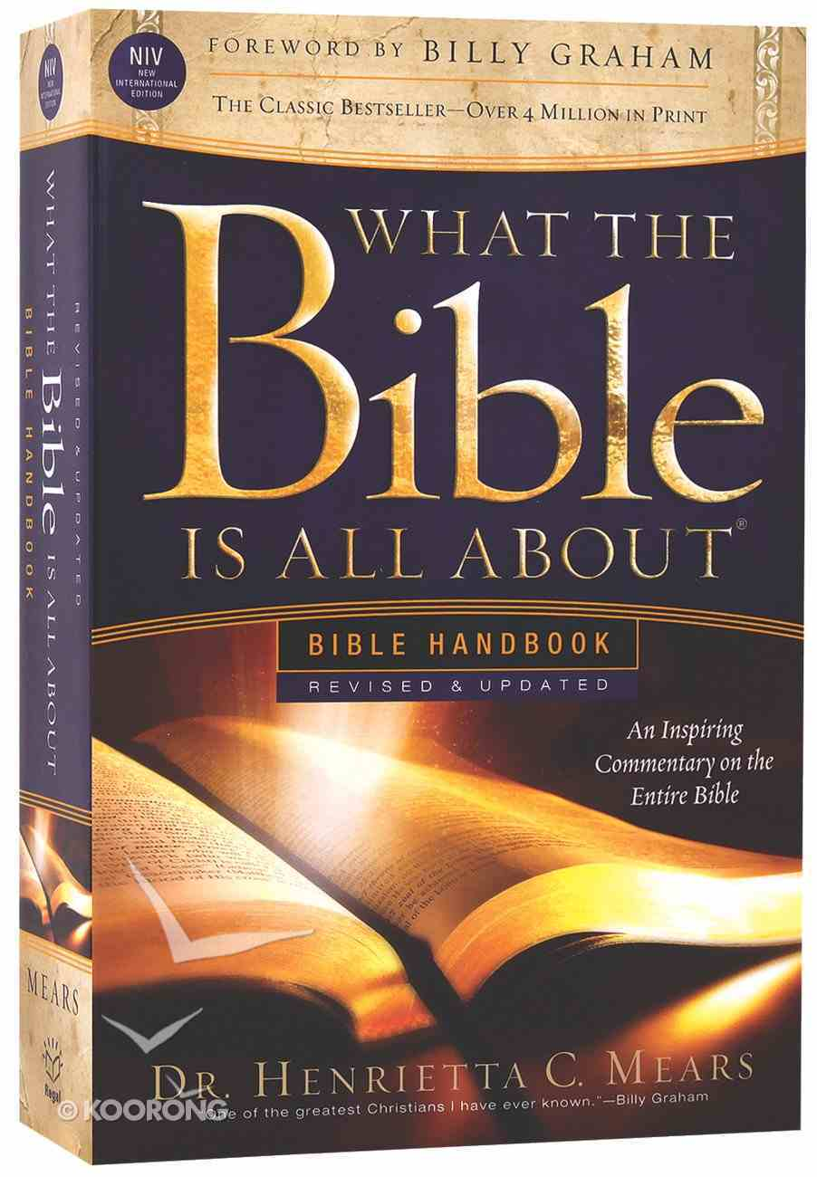 What the Bible is All About NIV (Revised and Updated) (2011) Paperback