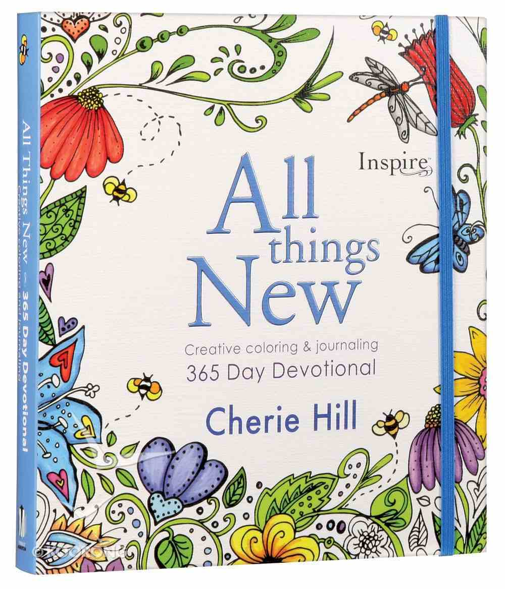Inspire: All Things New - Creative Coloring & Journaling 365 Day Devotional Paperback