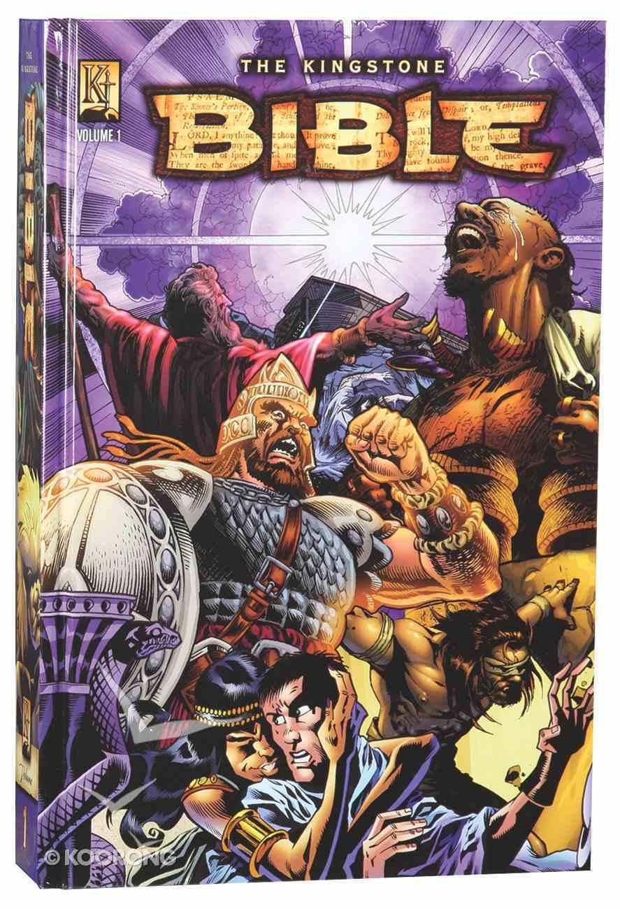 Genesis Through 1 Kings (#01 in The Kingstone Comic Bible Series) Hardback