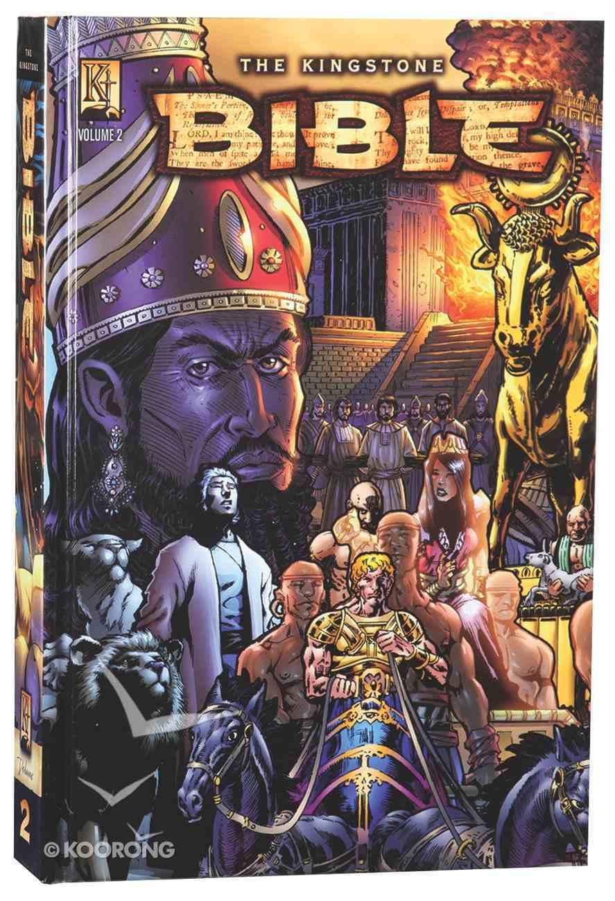 Kingstone Bible 2: 2 Kings Through Intertestimental Period (Kingstone Graphic Novel Series) Hardback