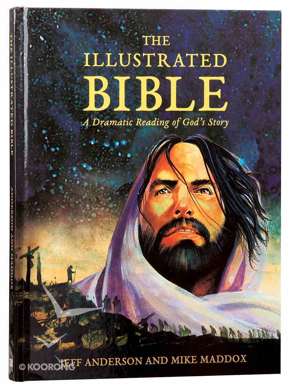 The Illustrated Bible (Comic Book Format) Hardback